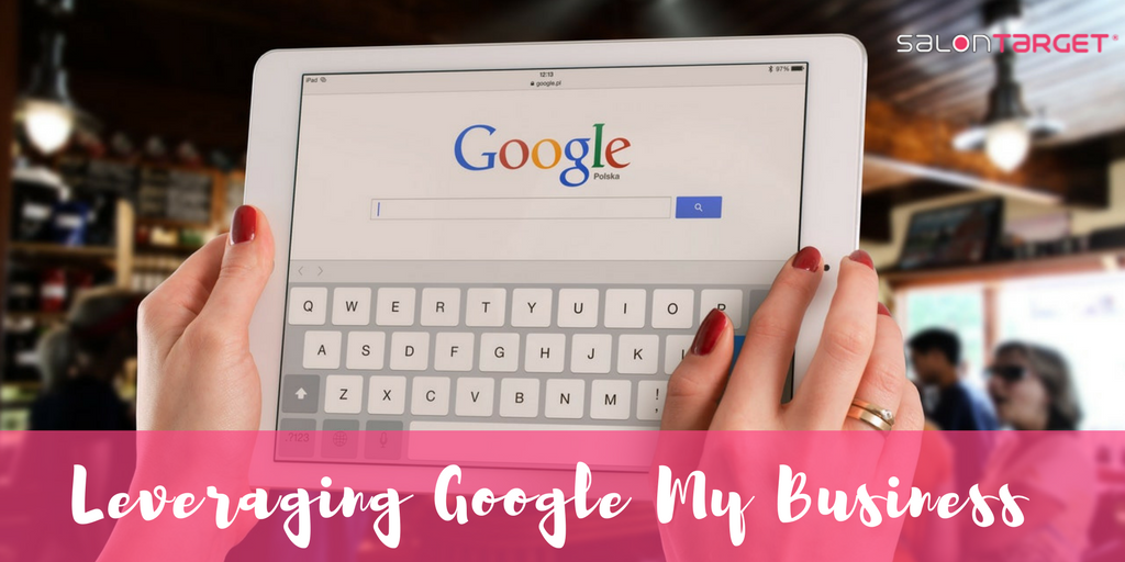 using google my business for your salon