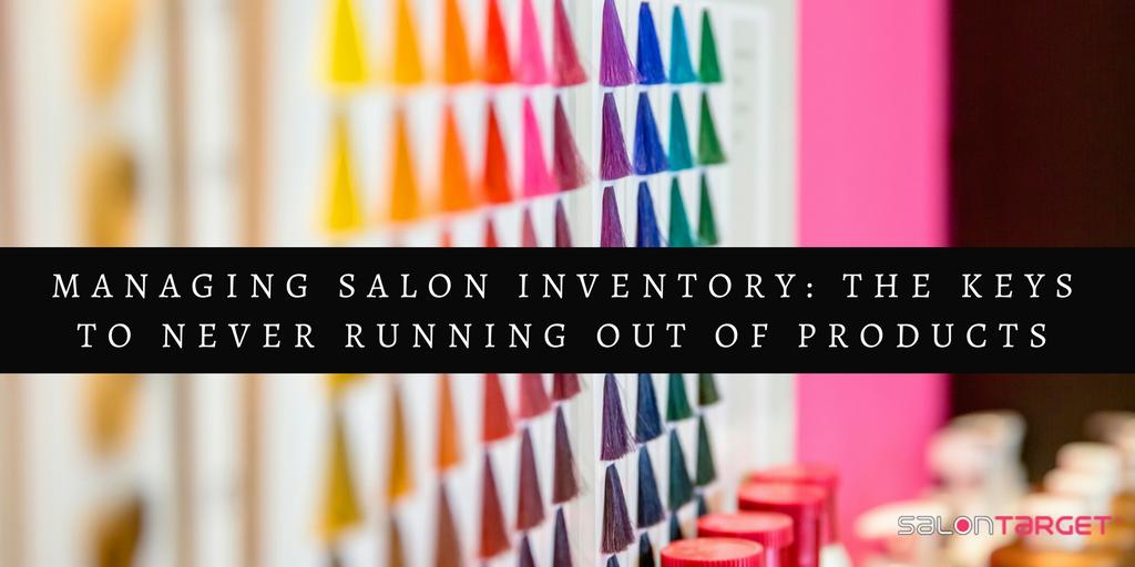 managing salon inventory