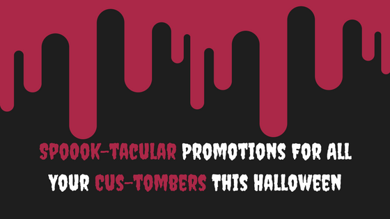 Halloween salon promotions