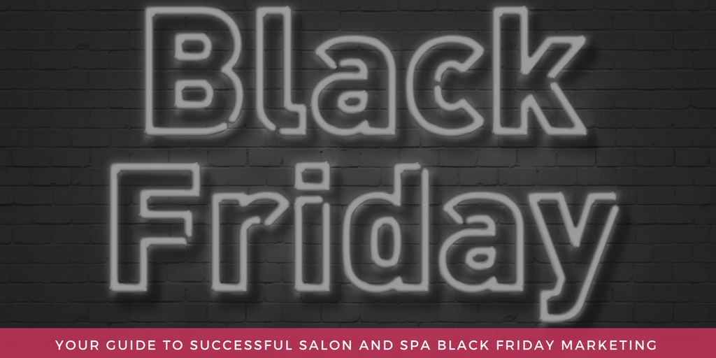 salon black friday marketing